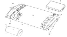 Apple gets patent for curved wraparound glass display