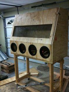 49 best blast cabinets images diy tools homemade tools garage tools rh pinterest com