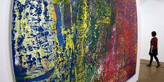Gerhard Richter entre figuration et abstraction au Centre Pompidou