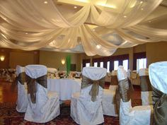 Wedding, Reception, Taupe - Chair Sashes