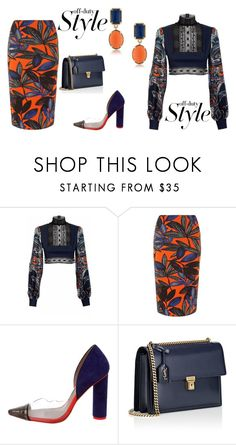"""""""Early Ballot"""" by maggiebell53 ❤ liked on Polyvore featuring JIRI KALFAR, Dorothy Perkins, Sophia Webster and Yves Saint Laurent"""