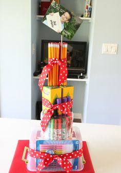 Teacher School Supplies Cake | The Motherload