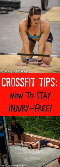 ✽ GETTIN' FIT ✽ : Go hard! Be strong! Stay healthy! These tips for staying injury-free when you do CrossFit are must-reads. Don't exercise without checking them out! #fitness #gym #workout #fitnessmotivation #fit #motivation #bodybuilding #training #health Wods Crossfit, Crossfit Motivation, Crossfit Injuries, Crossfit Exercises, Crossfit Equipment, Crossfit Women, Training Workouts, Fitness Goals, Fitness Tips