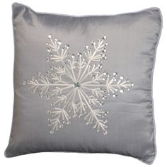 Add festive flair to your seating area with this National Christmas Tree 16 Purple Throw Pillows, Decorative Throw Pillows, Snowflake Pillow, White Snowflake, Country Christmas Decorations, Holiday Decorating, Wedding Decorations, Christmas Snowflakes, Christmas Tree