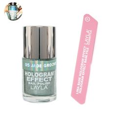 Missoni featured hologram metallic nail polish on their 2012 runway. Love that color !