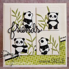 SSS Wednesday Challenge Blog: Simon Says Friends or Superhero   card by Debby