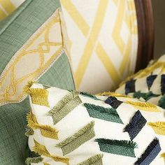 Lewis and Sheron Fabrics via Trim Queen