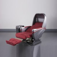 Sogerma Business Class Lie-Flat Seat - Single Genuine Leather