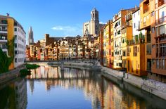 Travel through history in Girona before getting immersed in the pristine scenery of Costa Brava. Experience an unique landscape as you leave Barcelona behind and head into the historic town of Girona and it's many different wonders such as: Cathedral Barcelona 2017, Barcelona Catalonia, Barcelona Travel, Girona Spain, Travel Tours, Travel Destinations, Small Group Tours, Spain And Portugal, Day Tours