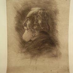 Hermann Struck - Professor Ernst Haeckel, Large Etching : Lot 47 Ernst Haeckel, Professor, Israel, Auction, Painting, Art, Teacher, Painting Art, Paintings