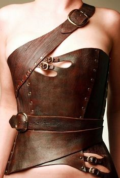 Awesome for a steampunk or warrior outfit!