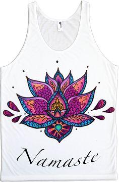 Namaste Lotus Flower Tank! - ElectroThreads -