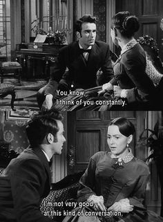 """The Heiress""--Montgomery Clift, Olivia DeHavilland. Love the old movies"