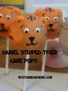 How To Make Tiger Cake Pops