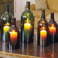 Стеклянная бутылка как материал для творчества: 13 интересных идей для дома и сада - Ярмарка Мастеров - ручная работа, handmade