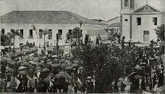 Fortaleza em 1913 Praça General Tibúrcio. Fonte : Revista Fon-Fon (RJ)
