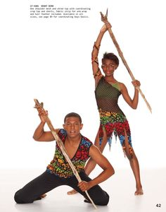 hip hop tribal costume