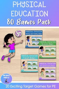 Teacher Created Resources, Teaching Resources, Ed Game, Primary Games, Physical Education Activities, Elementary Pe, Pe Lessons, Gross Motor, My Teacher