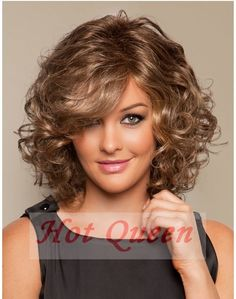 Deep Wavy Blonde Short Wigs 100% Brazilian Human Hair Bob Wigs Front Lace Wig&Full Lace Wig