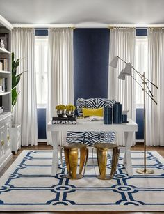 9 Conscious Clever Tips: Home Decor Palets Accent Walls home decor on a budget frames.Home Decor Bohemian Floor Pillows home decor signs friends.Southern Home Decor Interior. Home Office Space, Home Office Design, Home Office Decor, Office Furniture, Diy Home Decor, Office Spaces, Office Workspace, Office Ideas, Blue Office