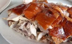 The Big Fat White Guy: Recipe: How to Make Lechon or Crispy Pork Roast (i. Greek Recipes, Pork Recipes, Asian Recipes, Cooking Recipes, Ethnic Recipes, Puerto Rico, Lechon, Pinoy Food, Filipino Food