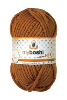 Myboshi No.3 373 karamell 100% Merinowolle 4,95 €