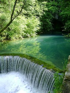 Waterfall, Krupaj, Serbia