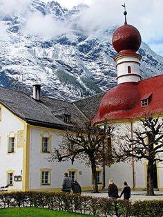St. Bartholomew, Bavarian Alps Church Wonder