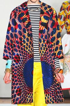patternprints journal it: MIX OF ETHNIC PATTERNS IN THE COLLECTION S / S 2013 STAR JEAN                                                                                                                                                      More