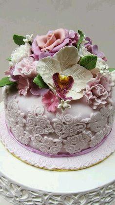 """Let them eat cake"" Gorgeous Cakes, Pretty Cakes, Amazing Cakes, Fancy Cakes, Mini Cakes, Cupcake Cakes, Unique Cakes, Creative Cakes, Cake Pops"