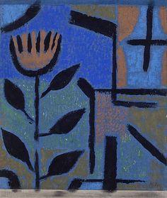 Paul Klee (Swiss, 1879 - 1940) Night Flower (Nacht Blüte), 1938