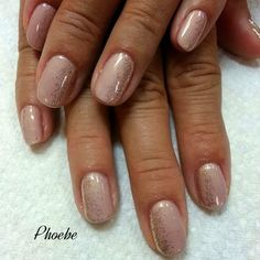 If you are a classy lady with some natural color but still want to be fun, this is the best idea! #phoebenails #nails #nailart #gel #gelnails