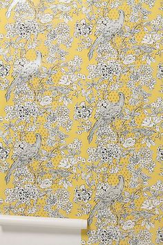Possible for entry  - Cranesbill Castle Wallpaper #anthropologie