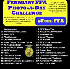 National FFA week or maybe chapter challenge?  Embedded image permalink
