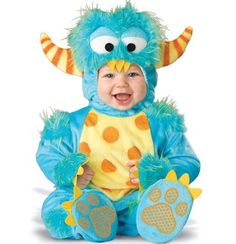 I think I need to have a baby just so I can just dress him up like this on Halloween