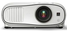 The Epson Home Cinema 3000 projector delivers stunning image quality and blockbuster performance for your living room or dedicated home theater. Offering up to Brighter Colors than competitive models, Epson projectors ensure stunning images. Cinema Projector, Projector Ideas, Projector Reviews, Media Room Design, Best Home Theater, Home Theater Projectors, Home Cinemas, White Houses, Epson