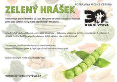 ČERVEN - Zelený hrášek - 30ti denní výzva Life Is Good, Healthy Eating, Fruit, Catalog, Eating Healthy, Healthy Nutrition, Clean Foods, Life Is Beautiful, Healthy Diet Tips