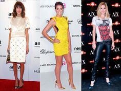 CAP-TOE HEELS  Alexa Chung, Heidi Klum and Doutzen Kroes are dangerously sexy in their metal-tipped, pointed pumps.
