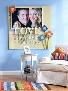 Enlarge Your Favorite Page-Instead of paying to get picture framed why not make your own!