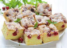 Prajitura cu visine French Toast, Muffin, Sweets, Breakfast, Desserts, Food, Morning Coffee, Tailgate Desserts, Deserts
