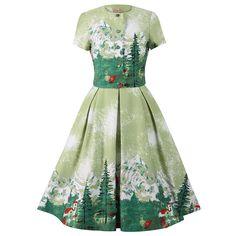 Renee Green Alpine Twin Set   Vintage Styles Dresses - Lindy Bop