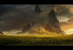The Fields: a personal art work from Eduardo's IP Wizard Anthologies.