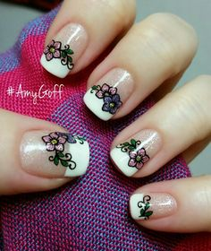 My nails I did! #Gelish #NailArt #AmyGoff
