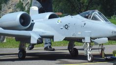 Giant Warthog A-10 RC Airplane turbine Engine. You have to have real balls and a big wallet to fly one of these.