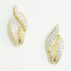 Lot #  15: Diamond Earrings.  *NO RESERVE* Gold Rush Pays Auction Rodeo: July 30th at 2pm EST