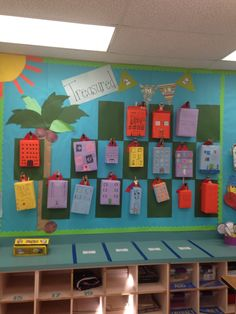 Super Hero on a building.  We did writing to go along with our theme.