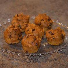 Mini Chocolate Chip Pumpkin Muffins Allrecipes.com