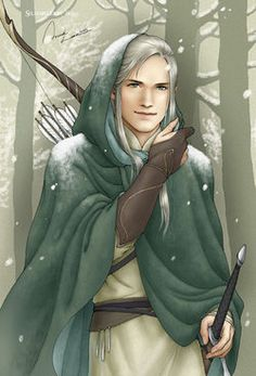Beleg Cúthalion was a Sindar who served King Elu Thingol of Doriath. He was considered to be the best archer and huntsman of his time. (Silmarillion / Children of Hurin)