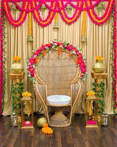 (C) Thepartypaletteco   Mehendi seat for bride 💚🌟   Mehendi Decor for Indian Brides   #wittyvows #bridesofwittyvows #mehendidecor #mehendi #henna #mehendibackdrop #weddingdecor #thursdaypost Mehendi Decor Ideas, Mehndi Decor, Mehndi Function, Best Mehndi, Intimate Weddings, Backdrops, Wedding Decorations, Indian, Outdoor Decor