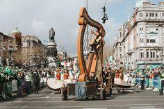 St Patrick's Day in Dublin, St. St Patricks Day, Dublin, Highlights, Saints, Street View, Hair Highlights, Highlight